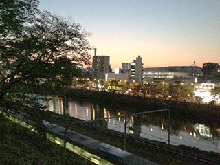 外濠公園の夕暮れ-2.jpg
