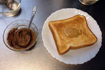 豆系トースト04 溶けたピーナッツ&練ったきな粉.jpg