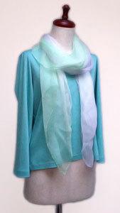 ペパーミント300 若草色のシフォンスカーフ-ノイズ軽減.jpg
