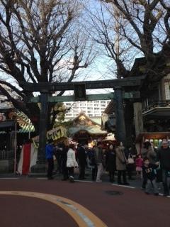 湯島天神 山の手側の鳥居.JPG