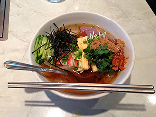 牛込神楽坂 焼肉多文 冷麺.jpg